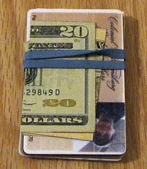 rubber band wallet posts from the past: 2007 & 2008