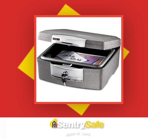 sentry safe giveaway1 Keep It. Safe.   Win a Sentry Security Chest!