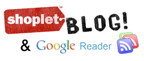shoplet google reader try us on google reader