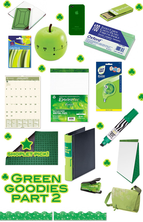 shoplet green goodies 2 st. patricks day green goodies