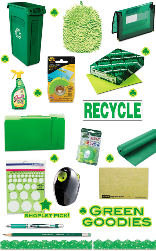 shoplet green goodies st. patricks day green goodies