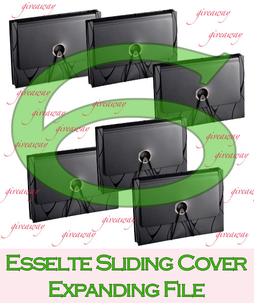 esselte expanding folder giveaway Esselte Giveaway!