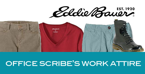 office scribes work attire Office Scribe Favorites