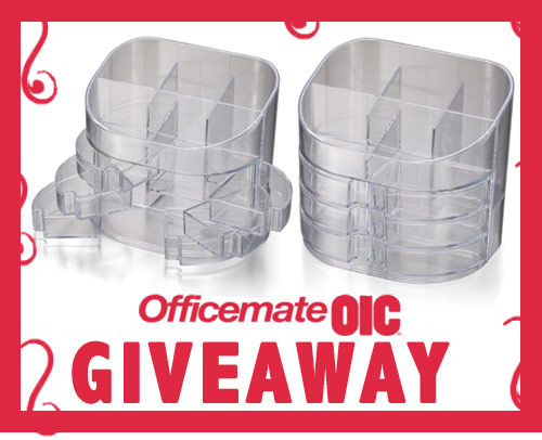 officemate giveaway get a free desk organizer!