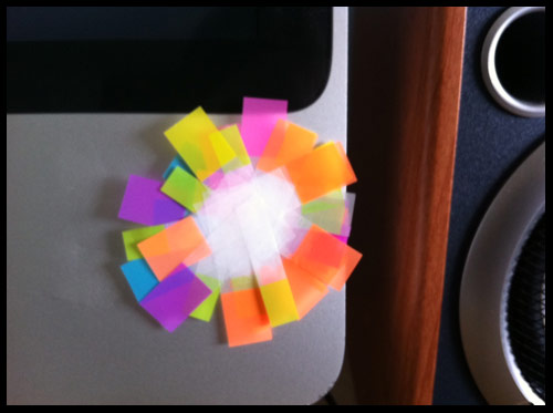post it tags flower sticky note friday