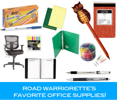 road warriorette favorite office supplies Road Warriorette Favorites