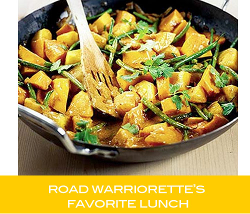 road warriorettes favorite lunch Road Warriorette Favorites