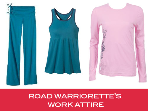 road warriorettes work attire Road Warriorette Favorites