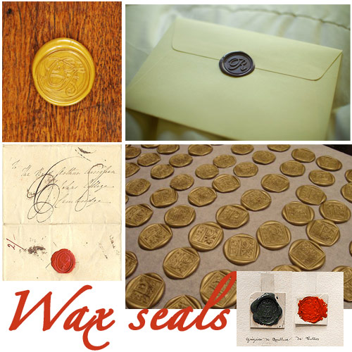 wax seals wax sealed envelopes