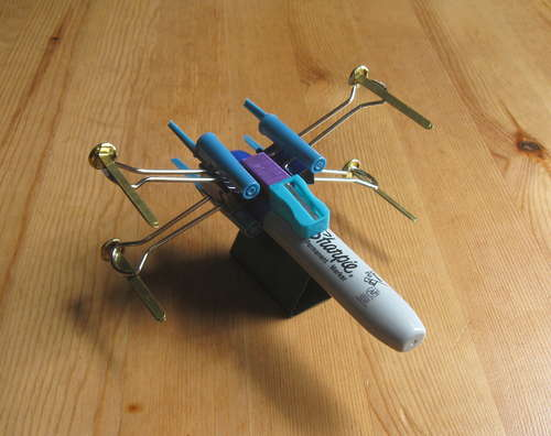 X Wing Fighter from Office Supplies best of office weekend roundup 46