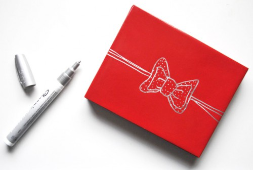draw your own gift bows 500x336 This is nice packaging