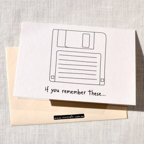 if you remember these floppy disk 500x500 computer birthday cards