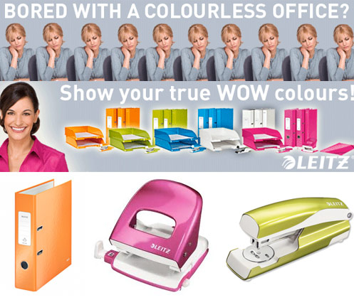 leitz wow office supplies New Leitz WOW!