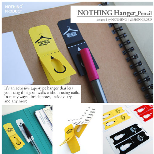 nothing hanger pencil nothing design group office supplies