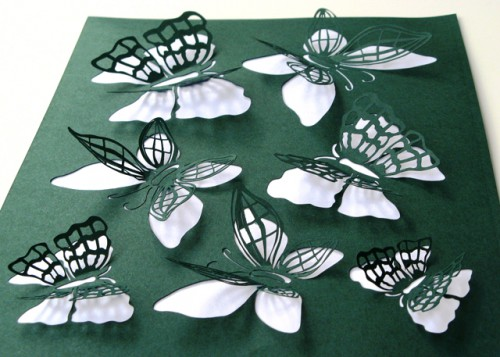 paper butterflies 500x357 best of office weekend roundup 47