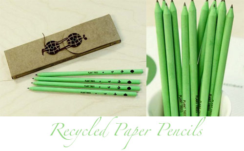 recycled paper pencils *etsy* office supply find   May 25