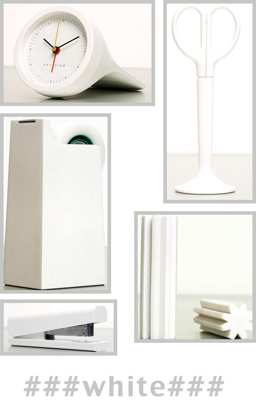 white office supplies Anything Design Office Supplies