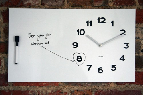whiteboard message clock 500x333 best of office weekend roundup 46