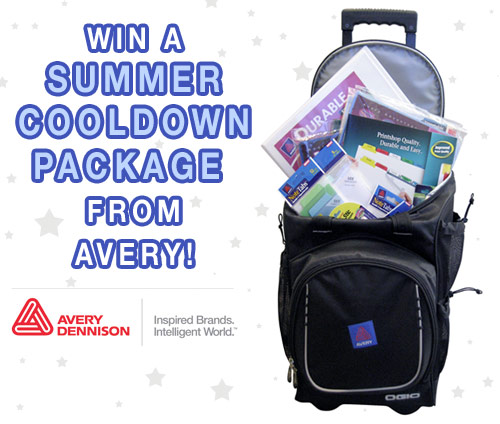 avery cooldown giveaway Avery Summer Product Giveaway!