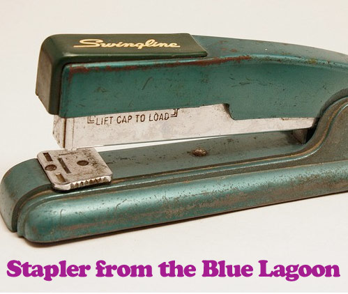 blue lagoon stapler *etsy* office supply find – June 9