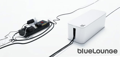 blue lounge cable box Bluelounge Office Equipment