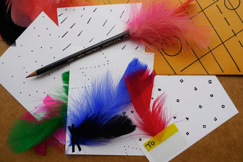 feather stationery 5 fun with feather stationery