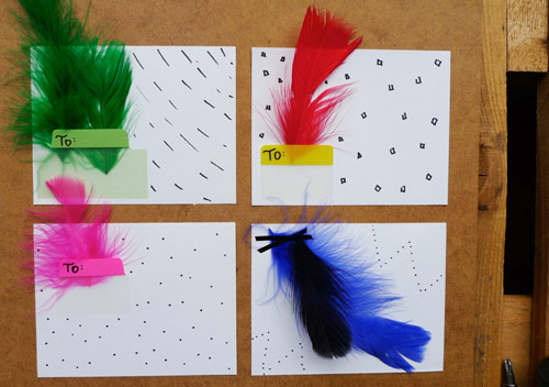 feather stationery fun with feather stationery