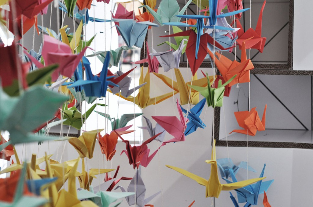paper-cranes