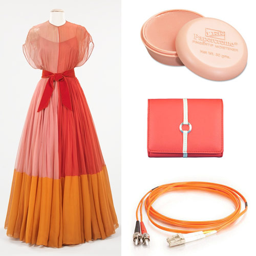 Peach orange office supplies shoplet blog - Matching colours with peach ...