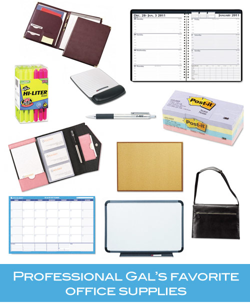 professional gals favorite office supplies professional gal favorites