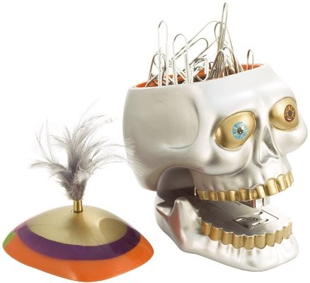 skull pencil sharpener best of office weekend roundup 50