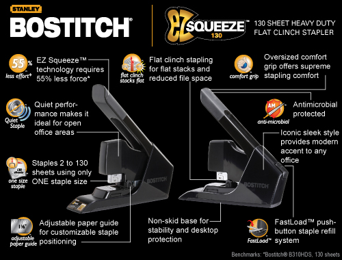 stanley bostitch ez squeeze stapler WIN A STANLEY BOSTITCH® OFFICE KIT & APPLE® IPOD TOUCH