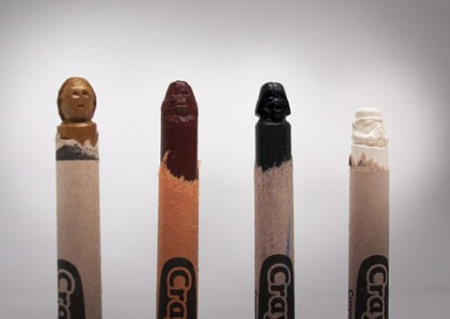 star wars crayon sculptures 500x354 best of office weekend roundup 50