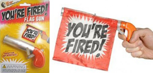 youre fired gun 500x241 best of office weekend roundup 49