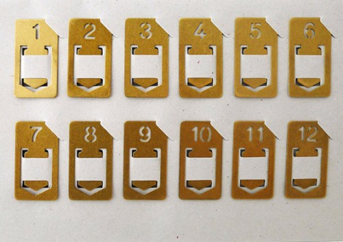 brass clip numbers 500x353 best of office weekend roundup 54