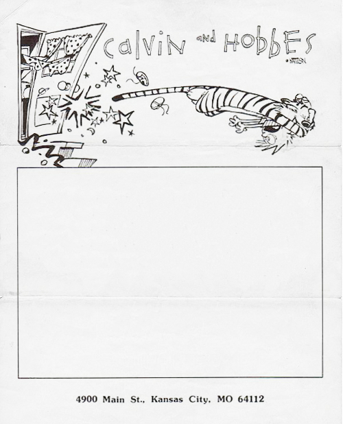 calvin hobbes letterhead best of office weekend roundup 53