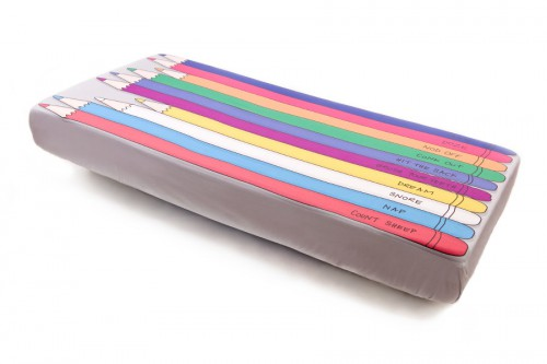 colored pencil sheets 500x333 A Back to School Bed