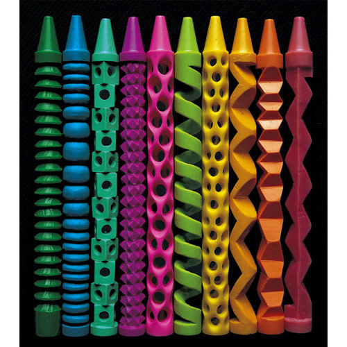 pete goldlust carved crayons 2 Pete Goldlusts Carved Crayons