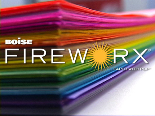 boise colored paper Fireworx Guess It Giveaway!