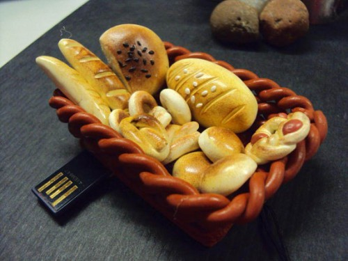 bread basket usb 500x375 breaded paper clips