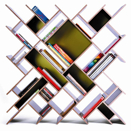 creative bookcases posts from the past: 2009