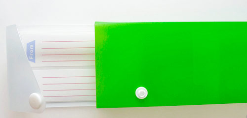 green pencil case New office supply finds