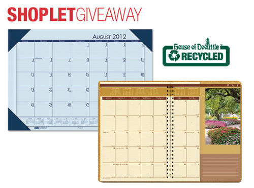 house of doolittle shoplet giveaway House of Doolittle Daily Calendar Giveaway!
