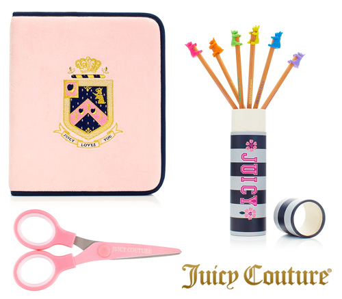 juicy couture school supplies juicy school supplies