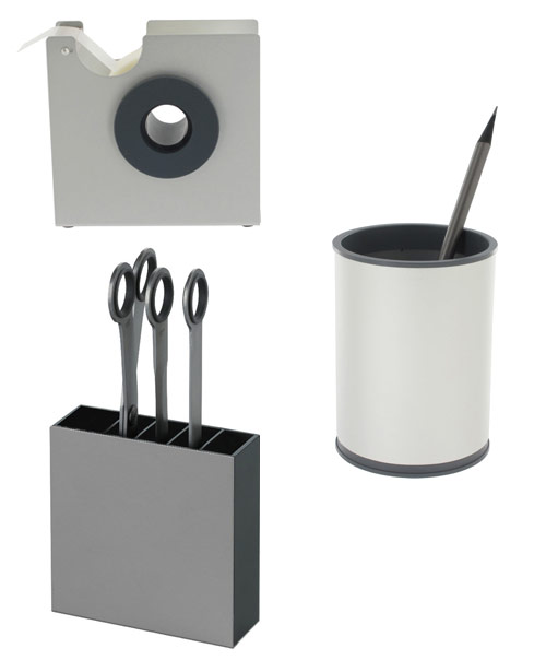 metal office supplies lexon design for your modern office