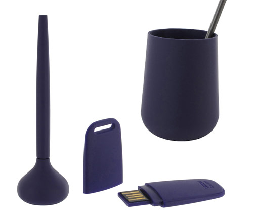 navy blue office supplies lexon design for your modern office