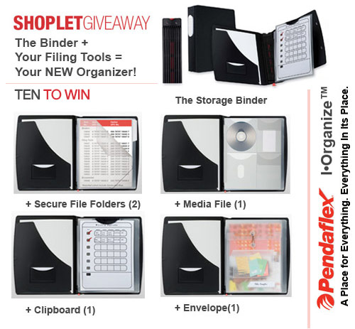 pendaflex iorganize giveaway Win an Organization Solution from Pendaflex!