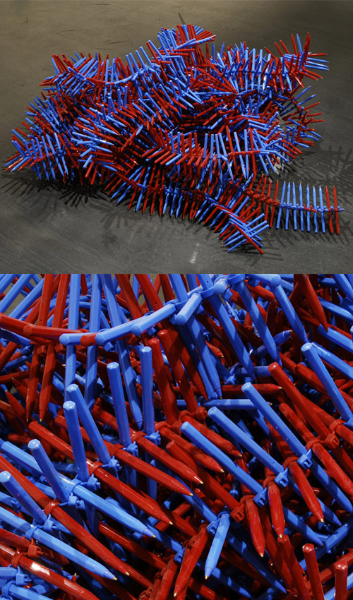 tim sterling red blue pens Tim Sterlings Paper Clip Art