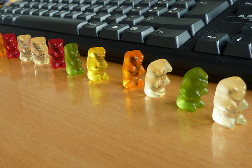 gummi bears at work best of office weekend roundup 62