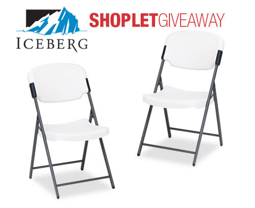 iceberg folding chairs giveaway Win Two Iceberg Folding Chairs! 